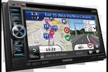DNX450TR - Système de navigation avec écran tactile de 6.1 spécifique Camping-car & Poids-lourds.
