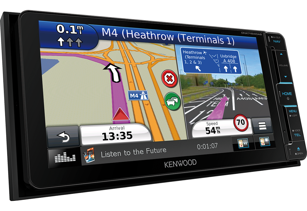 Car Audio With Bluetooth Hands Free And Sat Nav