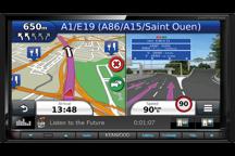 DNX7150DAB - 7.0 WVGA USB/SD/DVD přijímač se zabudovaným navigačním systémem, Bluetooth a DAB tunerem