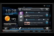 DNN9150DAB - Monitor WVGA Wi-Fi 7.0 Network con DVD Reveiver, sistema di navigazione integrato, Bluetooth e Tuner DAB integrato