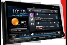 DNN9150DAB - 7.0 WVGA DVD-přijímač s vestavěnou navigací, WiFi, Bluetooth a DAB tunerem