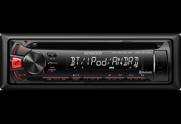Bluetooth-Autoradios • KDC-BT35U Ausstattung • Kenwood Deutschland