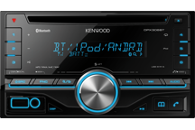 DPX306BT - 2DIN CD-Receiver with Bluetooth built-in