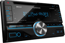 DPX306BT - Doppel-DIN-Receiver mit iPod-Steuerung und Bluetooth-Freisprecheinrichtung