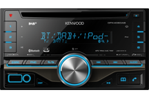 DPX406DAB - 2DIN CD Receiver med DAB tuner & indbygget Bluetooth