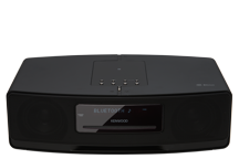 K-575BT-B - Kompaktes HiFi-System mit Bluetooth und integrierten Lautsprechern