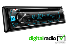 KDC-BT39DAB - CD-Receiver with DAB tuner & Bluetooth Built-in