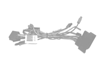 CAW-NS2511 - Wiring harness for original steeringwheel remote interface