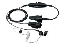 KHS-11BL - Microfone de mão com dois cabos e auricular