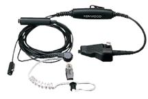 KHS-12BL - Microfone de lapela com 3 fios e auricular