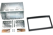 CAW-2040-02-1 - Doppel-DIN-Einbausatz