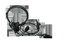 KHS-14 - Micro-casque léger avec un écouteur
