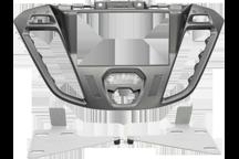 CAW-2114-26-1 - Doppel-DIN-Einbausatz