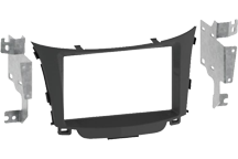 CAW-2143-32 - Doppel-DIN-Einbausatz