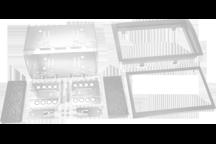 CAW-2145-08 - Doppel-DIN-Einbausatz
