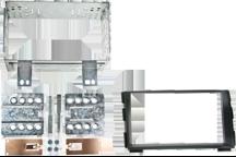 CAW-2178-27 - Doppel-DIN-Einbausatz