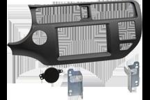 CAW-2178-29 - Doppel-DIN-Einbausatz