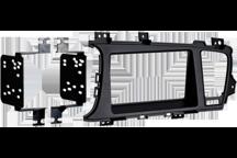 CAW-2178-34 - Doppel-DIN-Einbausatz