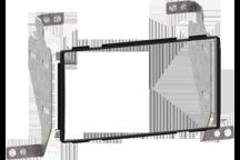 CAW-2210-04 - Doppel-DIN-Einbausatz