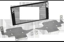 CAW-2210-18-1 - Doppel-DIN-Einbausatz