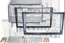 CAW-2230-24-2 - Doppel-DIN-Einbausatz