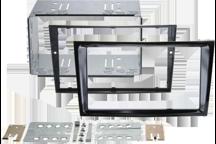 CAW-2230-24-3 - Doppel-DIN-Einbausatz