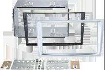 CAW-2230-24-4 - Doppel-DIN-Einbausatz