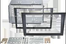 CAW-2230-26-1 - Doppel-DIN-Einbausatz