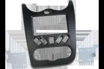 CAW-2250-02-1 - Doppel-DIN-Einbausatz