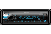 KDC-X7000DAB - CD-Receiver with DAB+ tuner & Bluetooth Built-in