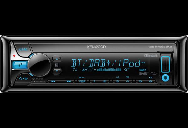 DAB-Autoradios • KDC-X7000DAB Ausstattung • Kenwood Deutschland