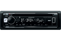 KDC-BT700DAB - CD-Receiver with DAB+ tuner & Bluetooth Built-in