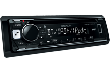 KDC-BT700DAB - Récepetur CD avec radio DAB+ & Bluetooth intégré