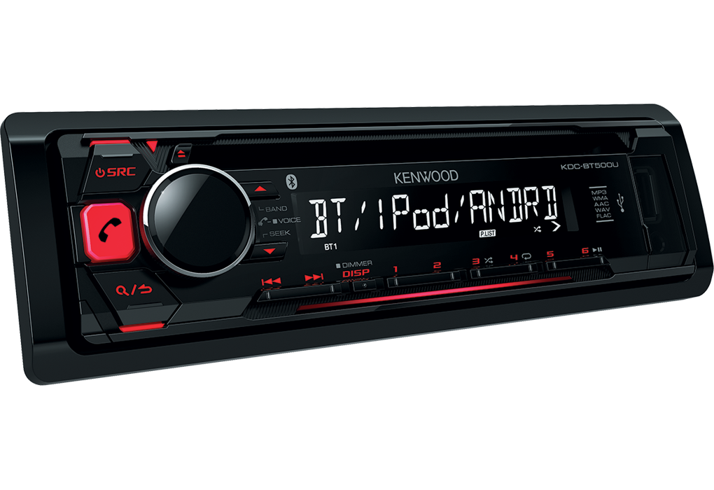 KDC-BT500U | Bluetooth Car Radio | FLAC | iPod-iPhone | Android | USB • KENWOOD UK