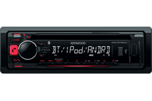 KDC-BT500U - CD-Receiver mit iPod-Steuerung und Bluetooth-Freisprecheinrichtung