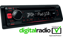KDC-DAB400U - CD-Receiver with DAB+ tuner Built-in