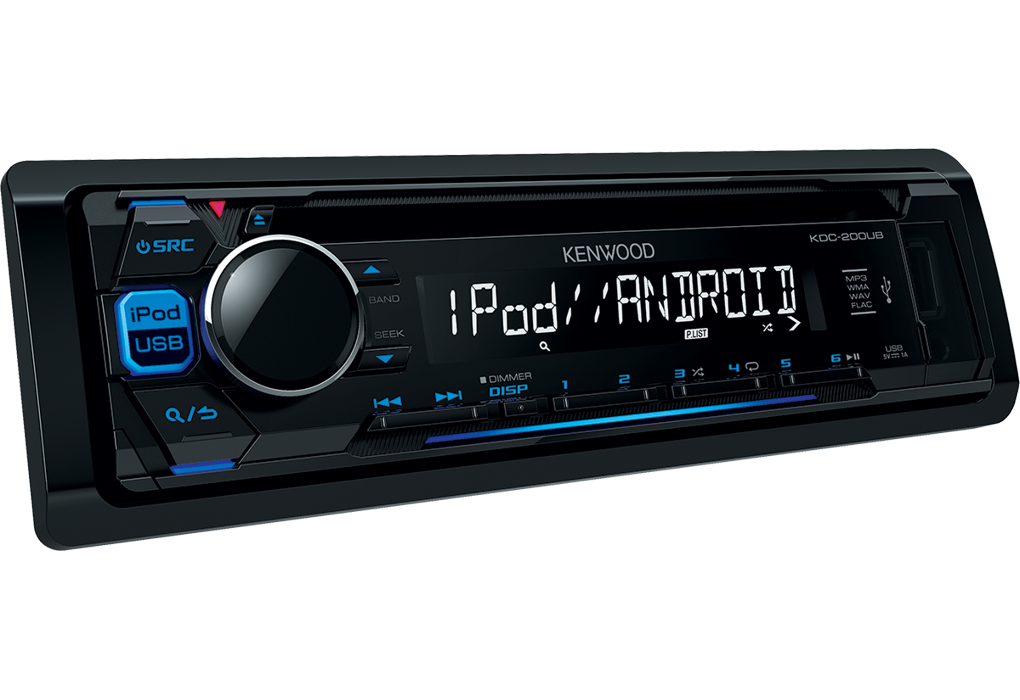 kdc 200ub car radio flac ipod iphone android usb kdc 200ub