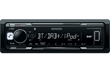 KMM-BT502DAB - Media-Receiver met Bluetooth & DAB+ Tuner