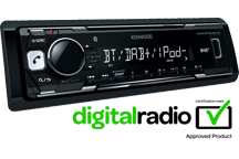 KMM-BT502DAB - Media-Receiver with Bluetooth & DAB+ Tuner Built-in