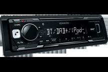KMM-BT502DAB - Media-Receiver avec Bluetooth & DAB intégré