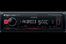 KMM-102RY - 2016. Красная подсветка, FLAC, Android, 1 пара линейных выходов