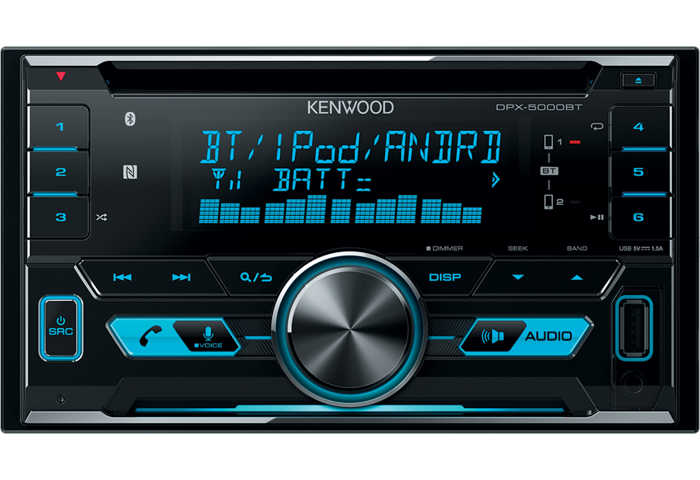 Oem Audio Plus >> Receivers • DPX-5000BT Features • Kenwood Europe