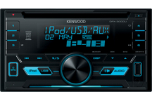 DPX-3000U - 2DIN CD/USB-Receiver. iPhone voorbereid. 2 RCA (2,5V)