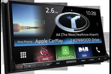 DNX8160DABS - Récepteur WVGA de 7 USB/SD/DVD avec système de navigation, Bluetooth et radio DAB intégrés