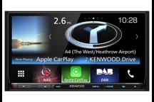 DNX8160DABS - Sistema de navegación 7.0 WVGA USB/SD/DVD con Bluetooth y sintonizador DAB incorporado
