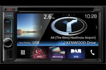 DNX5160DABS - Sistema di Navigazione da 6,2 WVGA con Bluetooth e Tuner DAB integrato