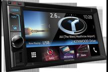 DNX5160BTS - 6,2 WVGA USB/SD/DVD přijímač s vestavěným navigačním systémem a Bluetooth