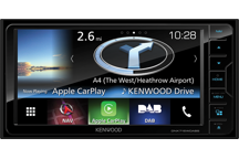 DNX716WDABS - 7.0 WVGA USB/SD/DVD-Receiver with built-in Navigation System, Bluetooth & DAB tuner