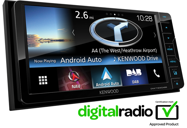 DNX716DABS Android Auto with built-in sat nav • KENWOOD UK