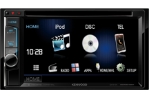 DDX5016BT - 6.2 WVGA USB/DVD-Receiver with built-in Bluetooth